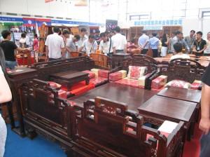 salon chinois en bois de rose